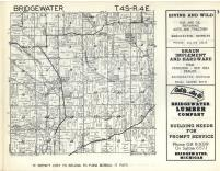 Bridgewater T4S-R4E, Washtenaw County 1957